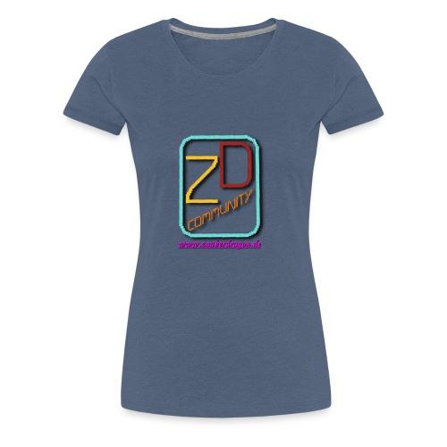 ZauberDragon LOGO 2 - Frauen Premium T-Shirt