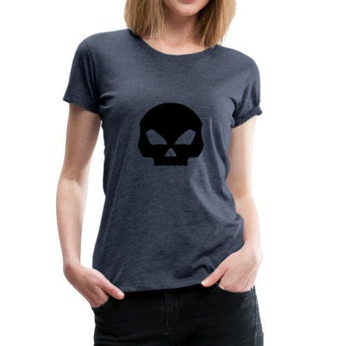 Totenkopf - Frauen Premium T-Shirt