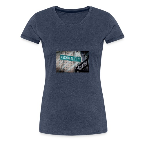 Street Sign - Women's Premium T-Shirt