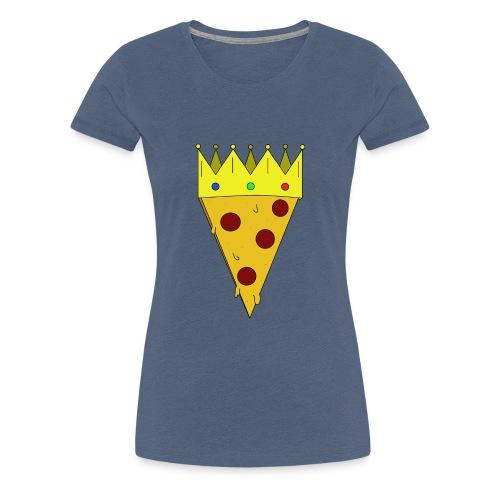 Pizzakönig - Frauen Premium T-Shirt