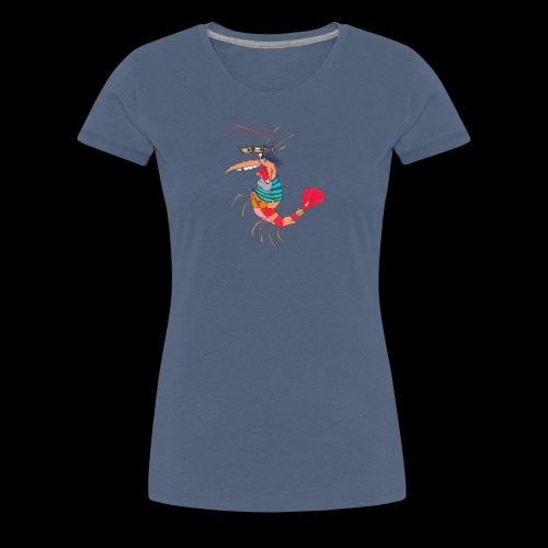 TheMightyShrimp - Dame premium T-shirt