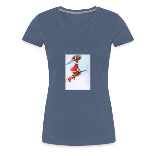 Mère noel - T-shirt Premium Femme