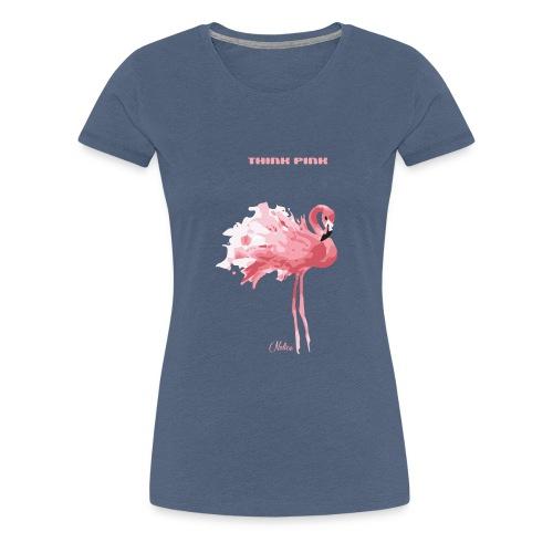 nelice think pink - Frauen Premium T-Shirt
