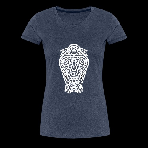 TAROT 5 BLANC - T-shirt Premium Femme