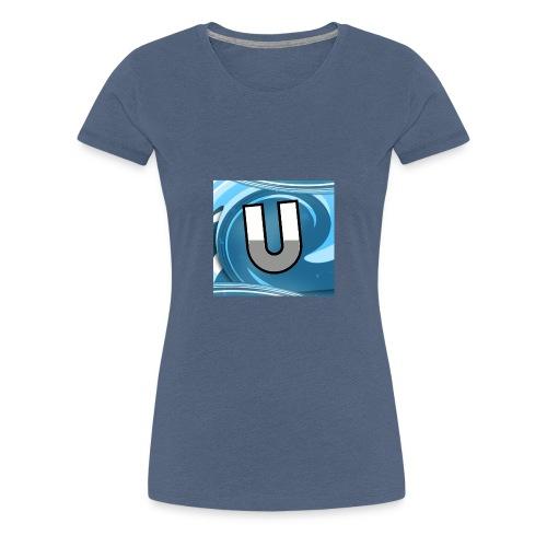Ungeclasht TV Logo Design - Frauen Premium T-Shirt