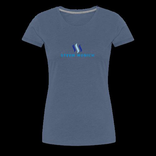 STEEM MUNICH VEKTOR - Frauen Premium T-Shirt