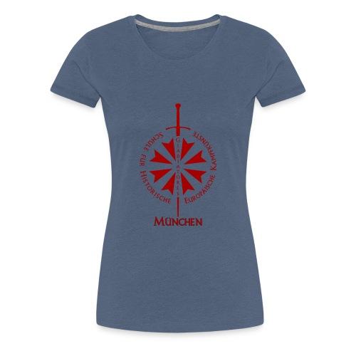 T shirt front M - Frauen Premium T-Shirt