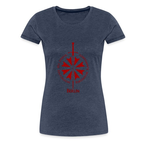 T shirt front B - Frauen Premium T-Shirt