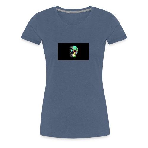 skeleton official logo - Women's Premium T-Shirt