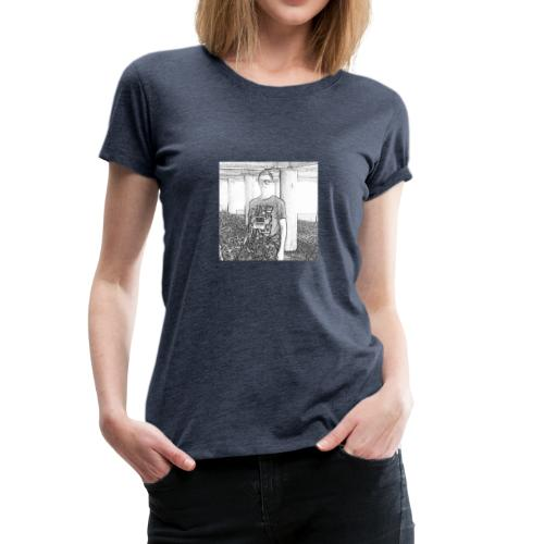 Tim Brown Sketch - Women's Premium T-Shirt