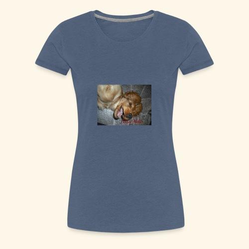 snäll hunden - Premium-T-shirt dam