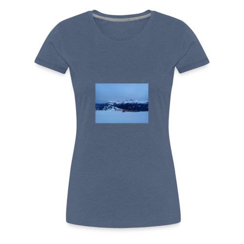 Alpen Österreich - Frauen Premium T-Shirt