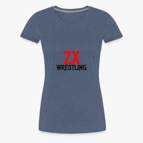 ZX WRESTLING - Women's Premium T-Shirt