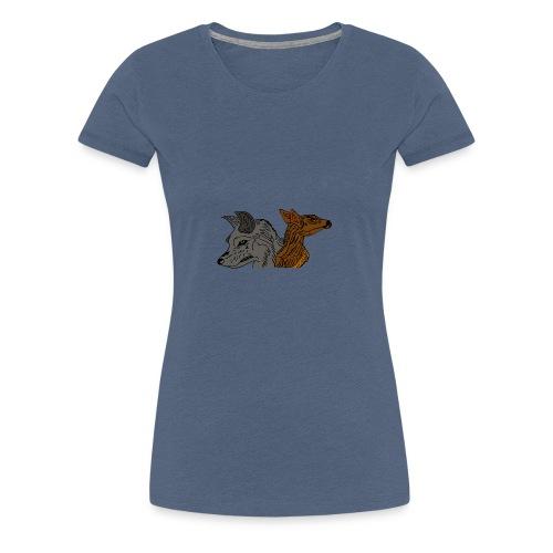 Ein unschlagbares Team - Frauen Premium T-Shirt