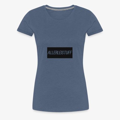 AllerleiStuff Zwart - Vrouwen Premium T-shirt