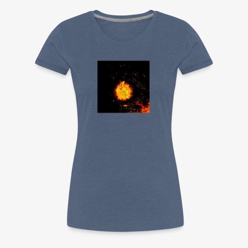 FIRE BEAST - Vrouwen Premium T-shirt