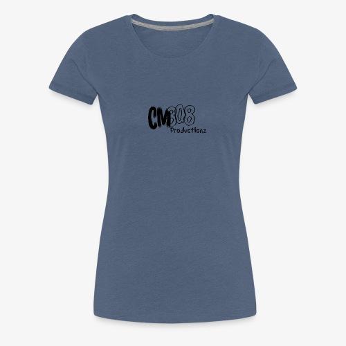 CM808 : Blck on Blck - Vrouwen Premium T-shirt