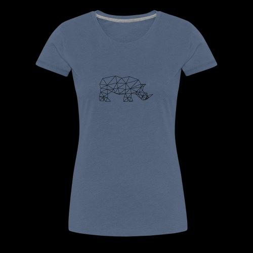 Rhinoceros - T-shirt Premium Femme