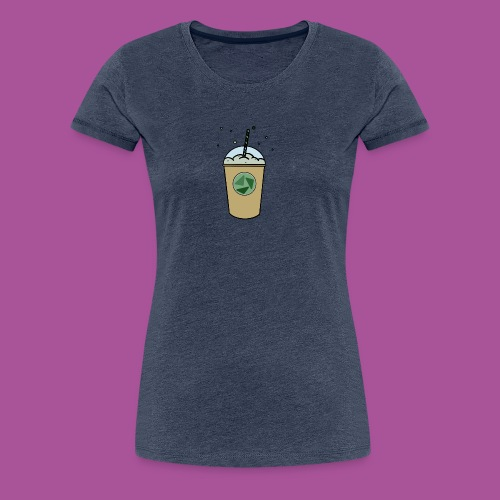 Grüner_Becher - Frauen Premium T-Shirt