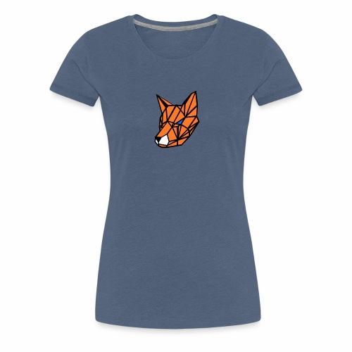 renard geometrique - T-shirt Premium Femme