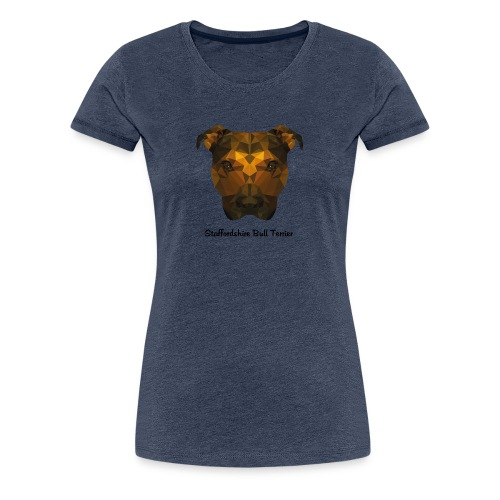 Staffordshire Bull Terrier - Women's Premium T-Shirt