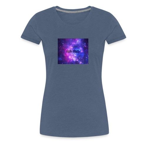 noah-vlogs hettegenser - Premium T-skjorte for kvinner