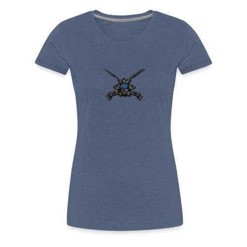 Bad Ass Gun - T-shirt Premium Femme