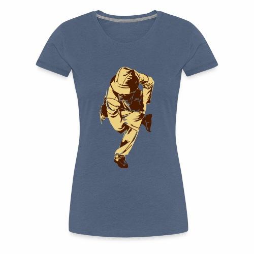 Tänzer Aufdruck - Frauen Premium T-Shirt