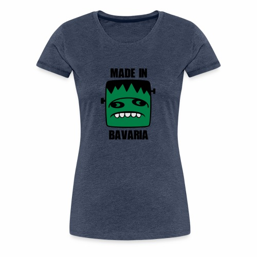 Fonster made in Bavaria - Frauen Premium T-Shirt