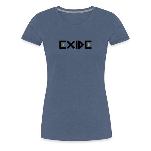 Logo Exide - Frauen Premium T-Shirt