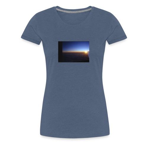 über den wolken - Frauen Premium T-Shirt