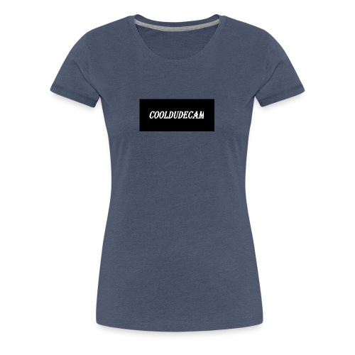 my cooldudecam murch - Women's Premium T-Shirt