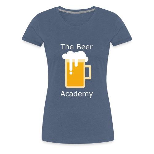 Beerplop Bierkrug The Beer Academy - Frauen Premium T-Shirt