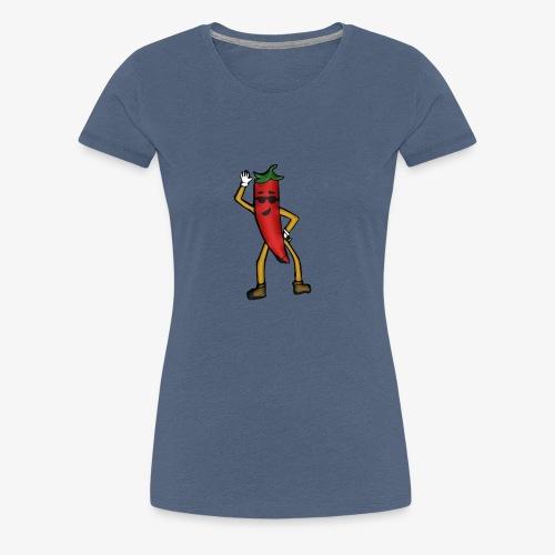 Chili-Love - Frauen Premium T-Shirt