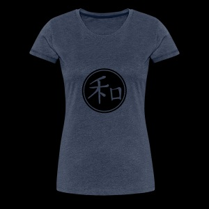 Peace - chinese sign - Frauen Premium T-Shirt