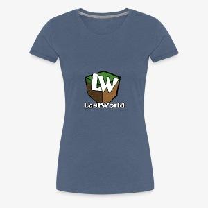 Logo LastWorld Transparent - T-shirt Premium Femme