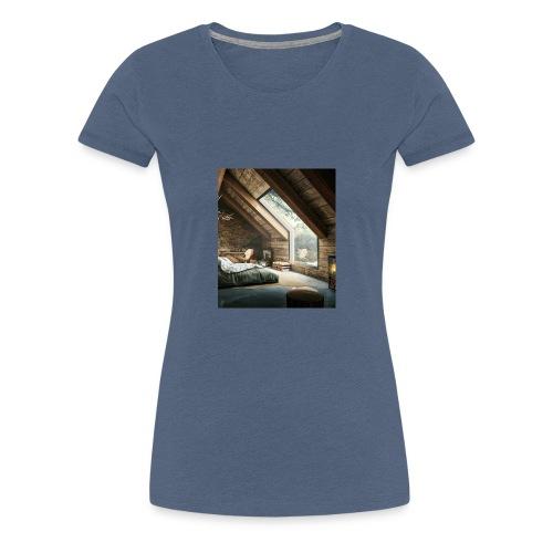 Schönes Zimmer - Frauen Premium T-Shirt