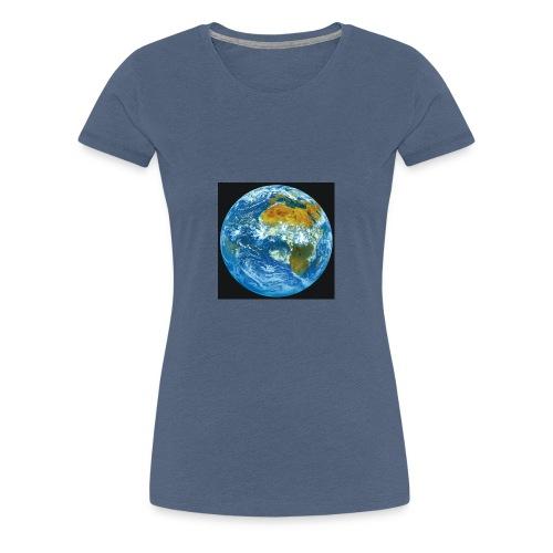 Welt - Frauen Premium T-Shirt