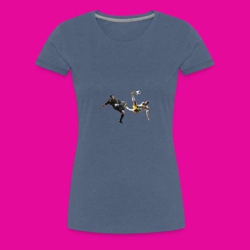 12 soccer player - Frauen Premium T-Shirt
