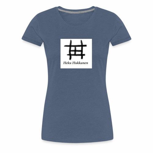 taulu 2 - Naisten premium t-paita