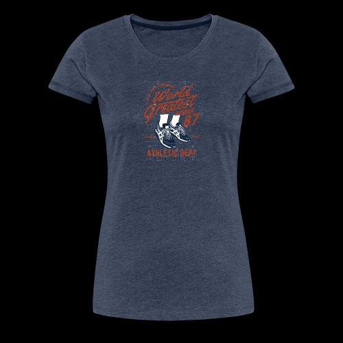 World Greatest Runner - Frauen Premium T-Shirt