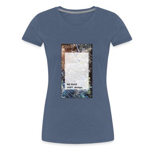 no face just design - Frauen Premium T-Shirt