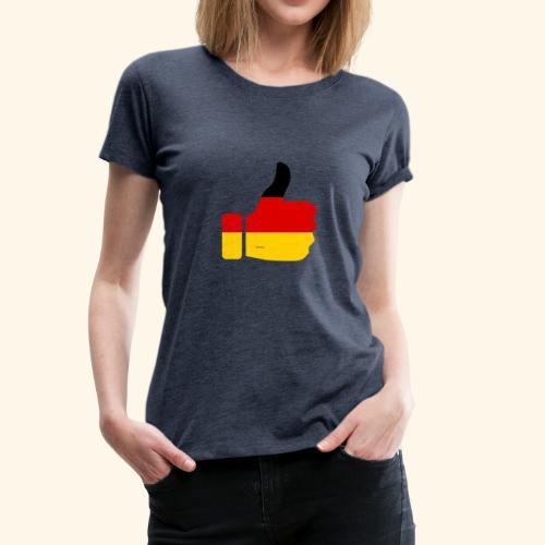 Deutschland Daumen nach oben! - Frauen Premium T-Shirt