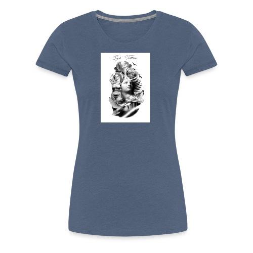 Religious tattoo - T-shirt Premium Femme