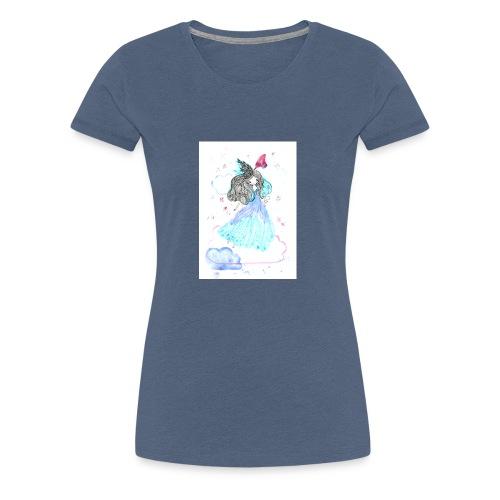 fille nuage - T-shirt Premium Femme