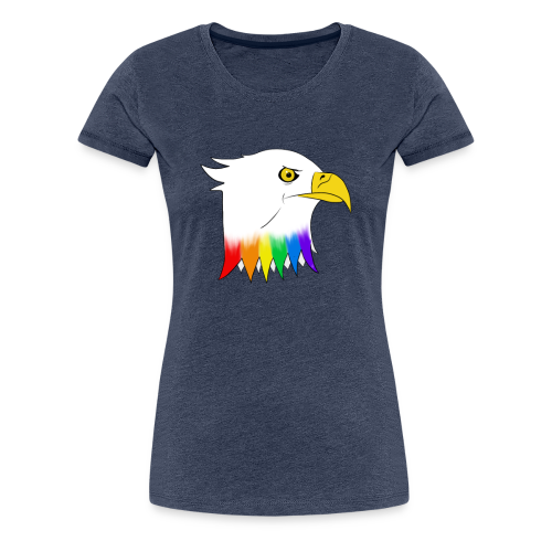 Pride Eagle - Women's Premium T-Shirt