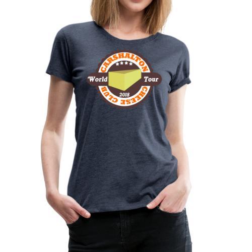 cheese club 2018 - Women's Premium T-Shirt