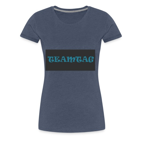 #TEAMTAG Clothing Line 1 - Women's Premium T-Shirt