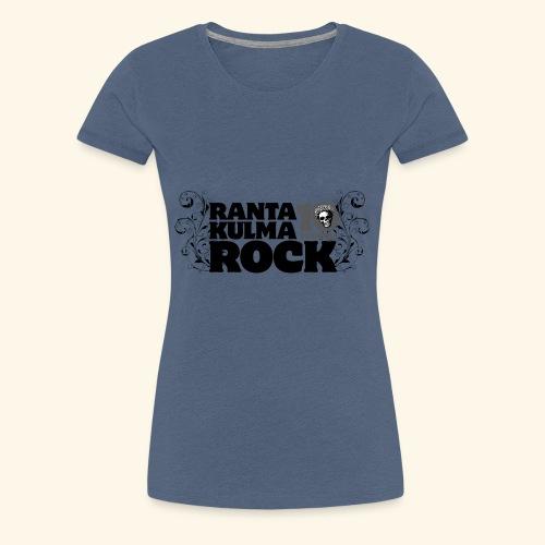 Rantakulmarock 10-vuotta - Naisten premium t-paita
