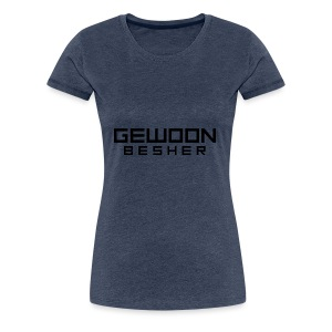 Naamloos gewoon besher logo vollledig - Vrouwen Premium T-shirt